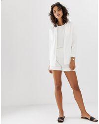 Vero Moda – Aware – Shorts - Weiß
