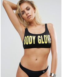 Body Glove - Logo Bikini Top - Lyst