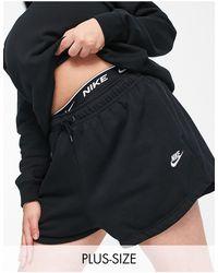 Nike - Plus Essential Fleece Shorts - Lyst