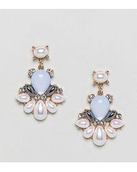 True Decadence - Pearl Statement Earrings (+) - Lyst