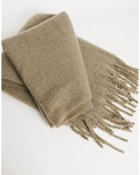 ASOS Blanket Scarf - Grey