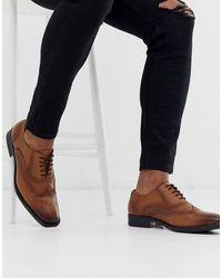 Redfoot Светло-коричневые Кожаные Оксфордские Туфли - Многоцветный