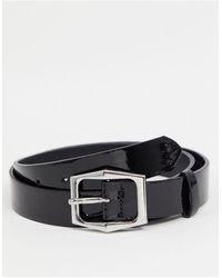 ASOS Skinny Belt - Black