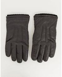 French Connection Guantes - Marrón