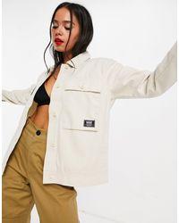 Vans Кремовая Куртка Clark-белый