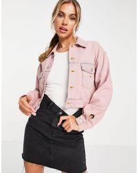 Tommy Hilfiger Короткая Куртка Розового Цвета -розовый Цвет