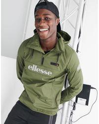 Ellesse Ion - giacca con logo riflettente - Verde