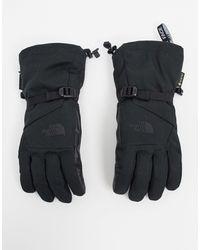 The North Face Черные Перчатки -черный