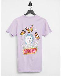 RIPNDIP Ripndip Rainbow T-shirt - Purple