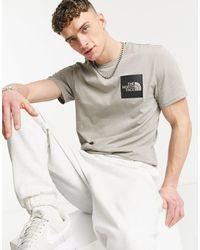 The North Face Fine - T-shirt grigia - Grigio