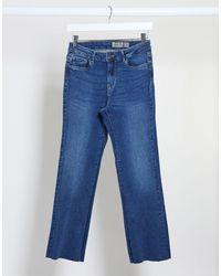 Vero Moda - – Kurz geschnittene Jeans - Lyst