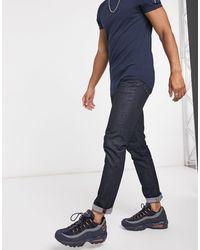 Superdry Tyler - Jeans slim - Blu