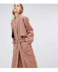 House Of Sunny - Luxe Casual Trench Coat - Lyst