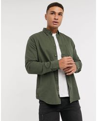 Only & Sons Overshirt With Pocket - Green