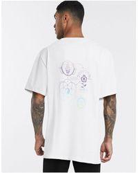 Weekday Camiseta blanca Great Flow - Blanco