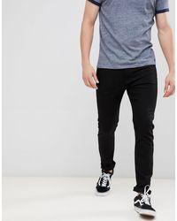 Calvin Klein Черные Джинсы Скинни С Логотипом -черный