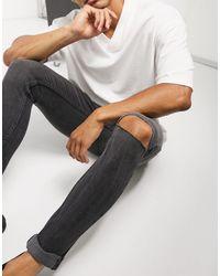 Criminal Damage Criminial Damange Essential Rip Skinny Jeans - Multicolour