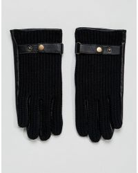 ASOS | Leather Driving Gloves In Black | Lyst