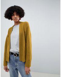 ASOS - Eco Cardigan In Fluffy Yarn - Lyst