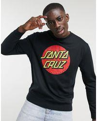 Santa Cruz Classic Dot Sweatshirt - Black