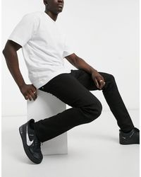 Replay Grover Straight Fit Jeans - Black