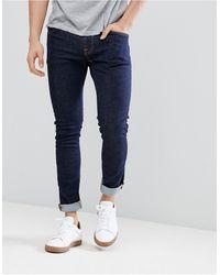 Nudie Jeans Co - Tight Terry - Jean super skinny - Bleu rincé