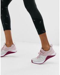 Nike Nike Metcon Flyknit 3 In Pink
