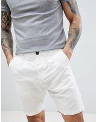 Produkt - Linen Chino Shorts - Lyst