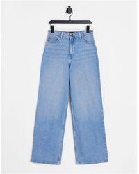 Lee Jeans Vaqueros acampanados con lavado azul claro