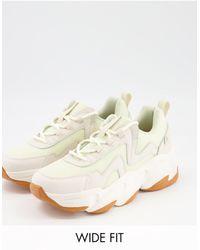 Raid Wide Fit Taylor Gum Sole Sneaker - Multicolour