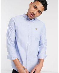 Lyle & Scott Oxford Shirt - Blue