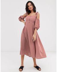 Capulet Esther Midi Dress - Pink