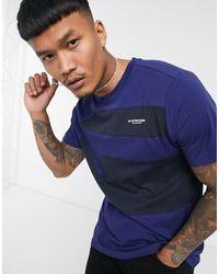 G-Star RAW Camiseta con diseño - Azul