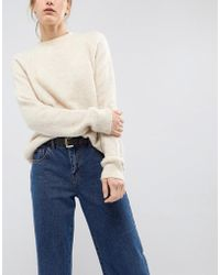 ASOS - Clean Waist And Hip Belt In Water Based Pu - Lyst