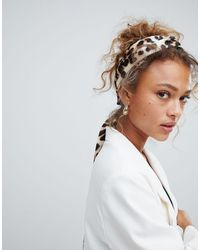ASOS Twist Block Headscarf - Multicolour