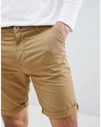 Blend - Washed Out Chino Shorts - Lyst