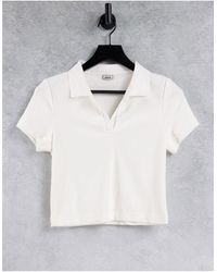 Pimkie Polo color crema - Blanco