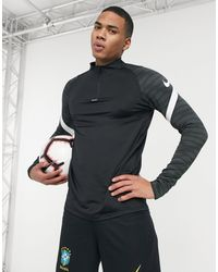 Nike Football Strike Drill Top - Black