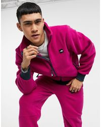 The North Face Fleeski Full Zip Fleece - Purple