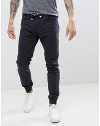 Threadbare - Cuffed Chino Trousers - Lyst