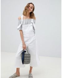 Pepe Jeans - Wide Leg Overall - Lyst