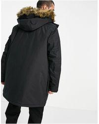 Vans Sholes Mte Coat - Black