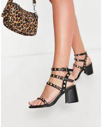 Miss Selfridge - Sian Studded Sandal - Lyst