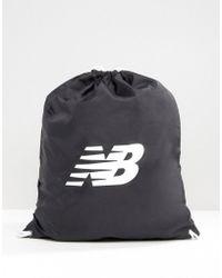 New Balance Gymsack In Black