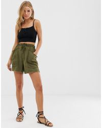 Free People Tomboy Casual Shorts - Green