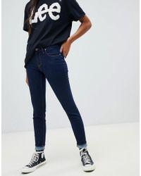 Lee Jeans - Lee Scarlett Mid Rise Skinny Jeans - Lyst