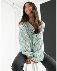 In The Style Зеленый Джемпер X Lorna Luxe-зеленый Цвет