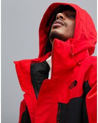 The North Face Clement Triclimate Jacket In Red