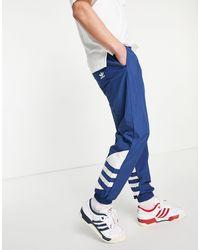 adidas Originals Big Trefoil Trackies - Blue