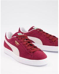 PUMA Klassieke Suède Sneakers - Rood
